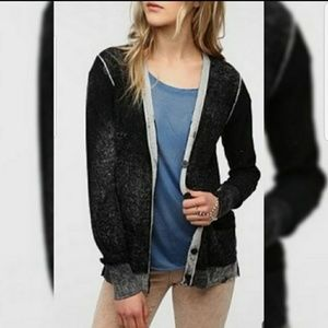 Coincidence & Chance Black and Gray Cardigan S
